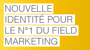 Le leader italien du field marketing nous confie son identité visuelle